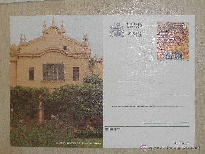 TARJETA POSTAL - 1996 - EDIFIL 161 - LERIDA - LLEIDA (Sellos - Extranjero - Entero postales)