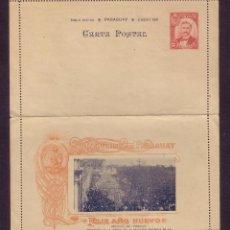 Sellos: PARAGUAY.1901.CARTA POSTAL NUEVA. AL DORSO IMAGEN DE LA VIRGEN DE LA ASUNCIÓN.MAGNÍFICA Y RARA.. Lote 26147132