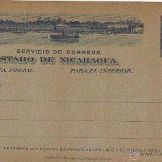 Sellos: NICARAGUA TARJETA POSTAL 1899 INTERIOR TP EP SC 2 CENTAVOS. Lote 43602686