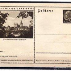 Sellos: ENTERO POSTAL ALEMANIA NAZI DEUTSCHES III REICH, CONOCER ALEMANIA, . Lote 44022260