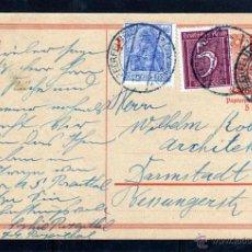 Sellos: ALEMANIA. ENTERO POSTAL 1922 FRANQUEO ADICIONAL DEUTSCHES REICH. Lote 48341153