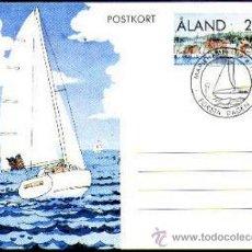 Sellos: ENTERO POSTAL ALAND 1990. Lote 36428484