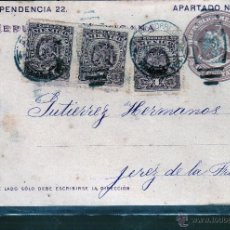 Sellos: ENTERO POSTAL DE MEXICO A JEREZ.. Lote 155166481