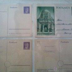 Sellos: LOTE 8 ENTEROS POSTALES ALEMANIA Y OCUPACIONES III REICH: 2 UCRANIA, 1 OSTLAND Y 5 ALEMANIA. Lote 49228489