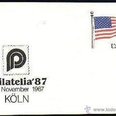 Sellos: USA ENTERO POSTAL PHILATELIA 1987. Lote 6378892
