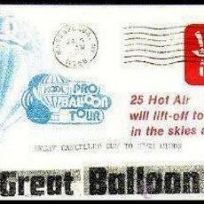 Sellos: USA 1980 LA GRAN CARRERA DE GLOBOS. Lote 9447252