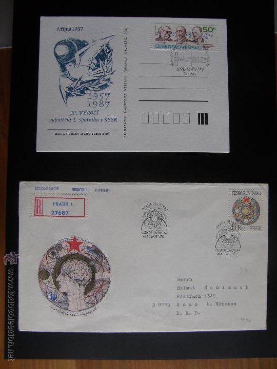 CHECOSLOVAQUIA. LOTE DE MÁS DE 200 SOBRES PRIMER DÍA, ENTERO POSTALES, TARJETAS POSTALES, ETC. (Sellos - Extranjero - Entero postales)