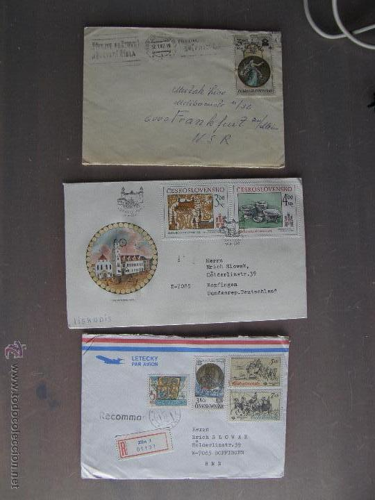 Sellos: Checoslovaquia. Lote de más de 200 sobres primer día, entero postales, tarjetas postales, etc. - Foto 3 - 52953992