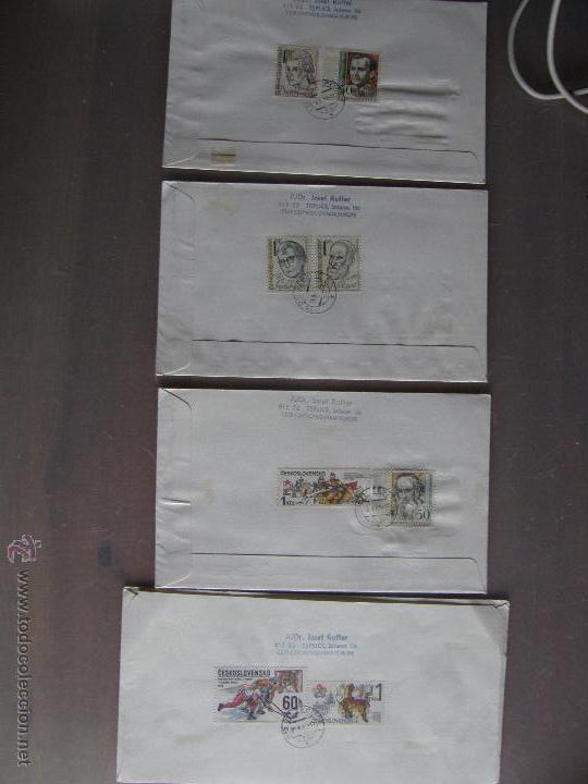 Sellos: Checoslovaquia. Lote de más de 200 sobres primer día, entero postales, tarjetas postales, etc. - Foto 5 - 52953992