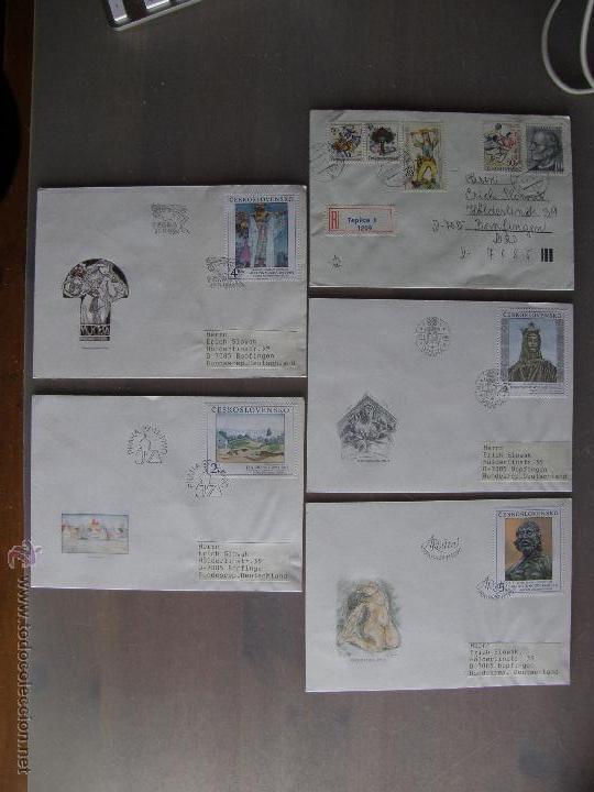 Sellos: Checoslovaquia. Lote de más de 200 sobres primer día, entero postales, tarjetas postales, etc. - Foto 7 - 52953992
