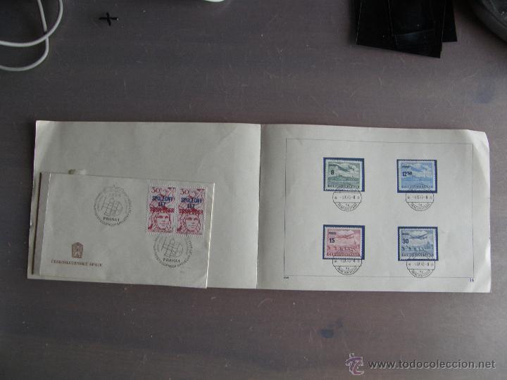 Sellos: Checoslovaquia. Lote de más de 200 sobres primer día, entero postales, tarjetas postales, etc. - Foto 8 - 52953992