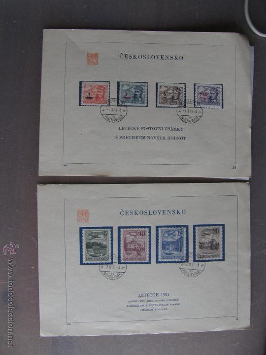 Sellos: Checoslovaquia. Lote de más de 200 sobres primer día, entero postales, tarjetas postales, etc. - Foto 9 - 52953992