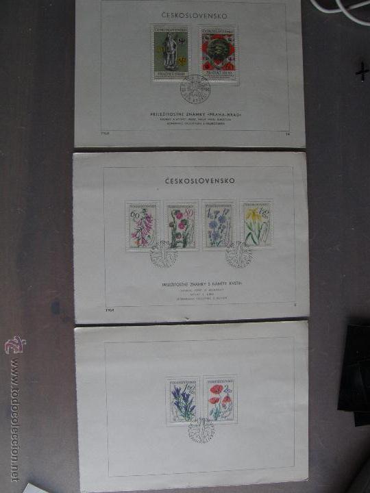 Sellos: Checoslovaquia. Lote de más de 200 sobres primer día, entero postales, tarjetas postales, etc. - Foto 10 - 52953992
