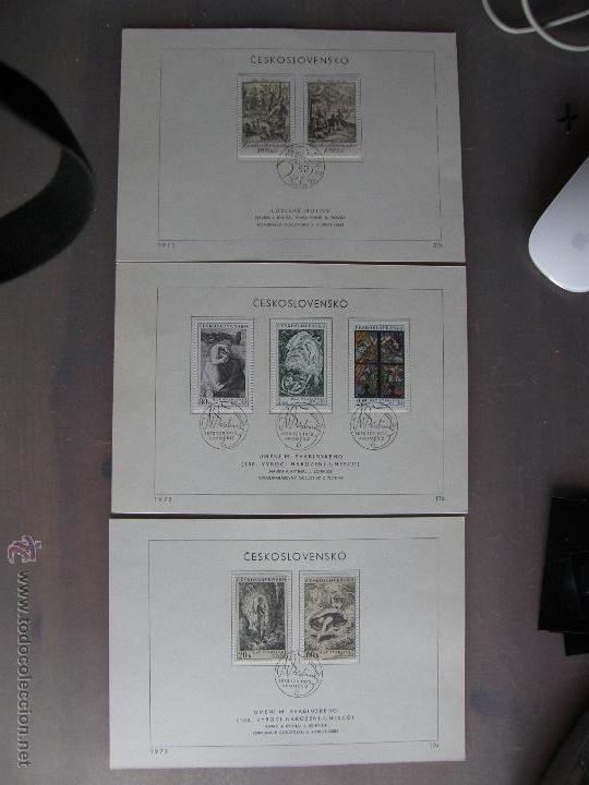 Sellos: Checoslovaquia. Lote de más de 200 sobres primer día, entero postales, tarjetas postales, etc. - Foto 11 - 52953992