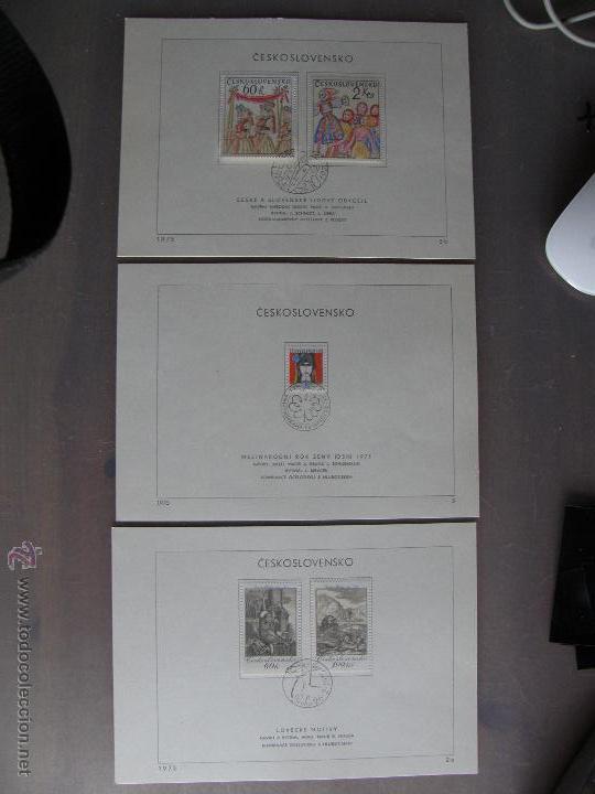 Sellos: Checoslovaquia. Lote de más de 200 sobres primer día, entero postales, tarjetas postales, etc. - Foto 12 - 52953992