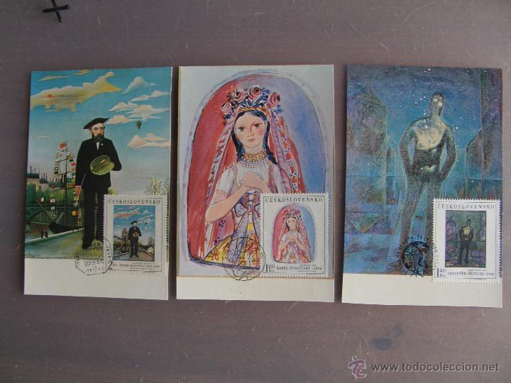 Sellos: Checoslovaquia. Lote de más de 200 sobres primer día, entero postales, tarjetas postales, etc. - Foto 15 - 52953992