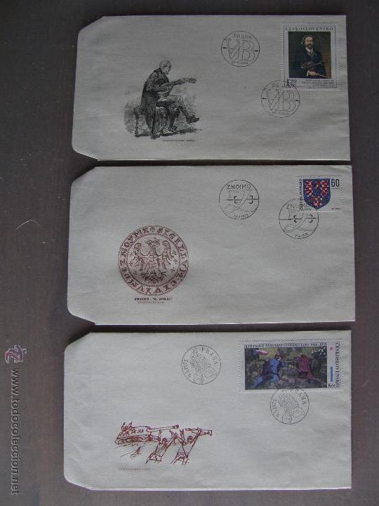 Sellos: Checoslovaquia. Lote de más de 200 sobres primer día, entero postales, tarjetas postales, etc. - Foto 16 - 52953992