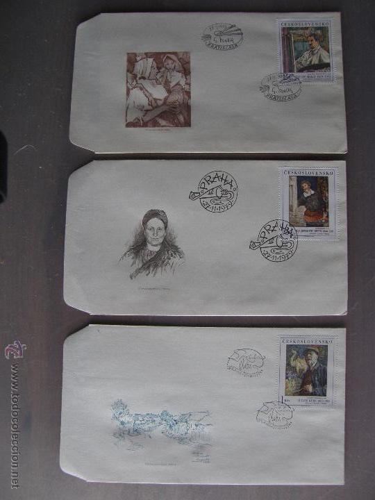 Sellos: Checoslovaquia. Lote de más de 200 sobres primer día, entero postales, tarjetas postales, etc. - Foto 18 - 52953992