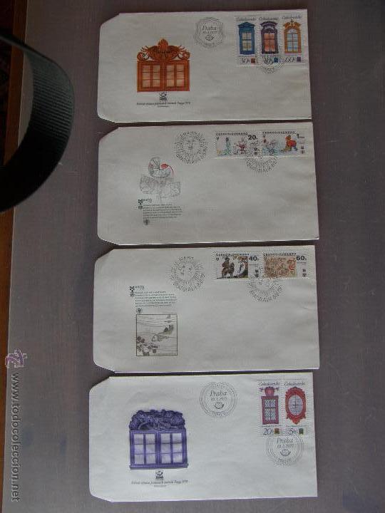 Sellos: Checoslovaquia. Lote de más de 200 sobres primer día, entero postales, tarjetas postales, etc. - Foto 20 - 52953992