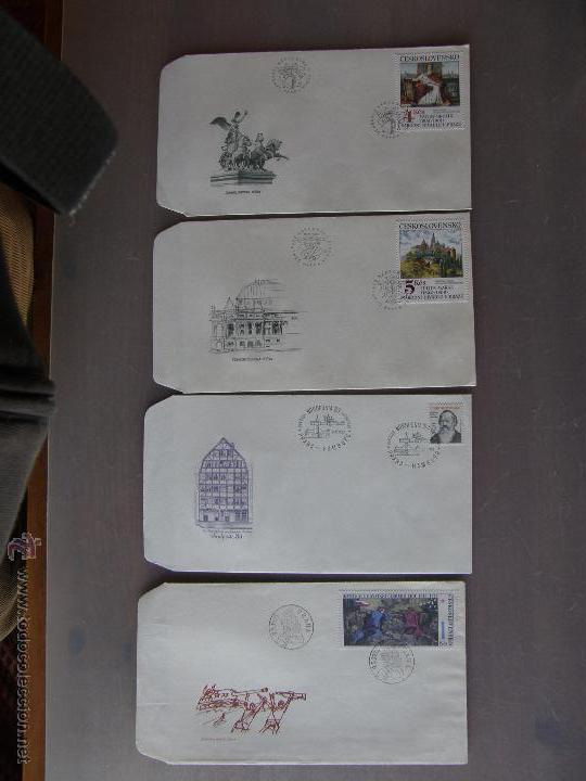 Sellos: Checoslovaquia. Lote de más de 200 sobres primer día, entero postales, tarjetas postales, etc. - Foto 21 - 52953992