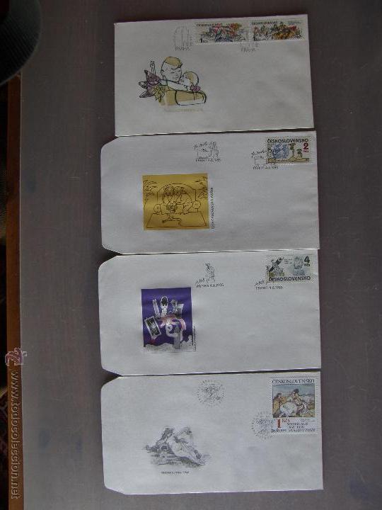 Sellos: Checoslovaquia. Lote de más de 200 sobres primer día, entero postales, tarjetas postales, etc. - Foto 22 - 52953992