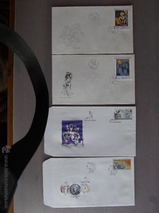 Sellos: Checoslovaquia. Lote de más de 200 sobres primer día, entero postales, tarjetas postales, etc. - Foto 23 - 52953992