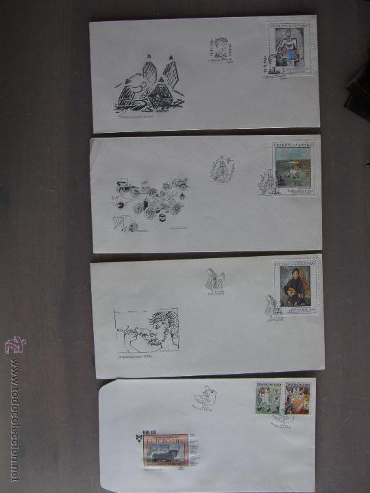 Sellos: Checoslovaquia. Lote de más de 200 sobres primer día, entero postales, tarjetas postales, etc. - Foto 27 - 52953992
