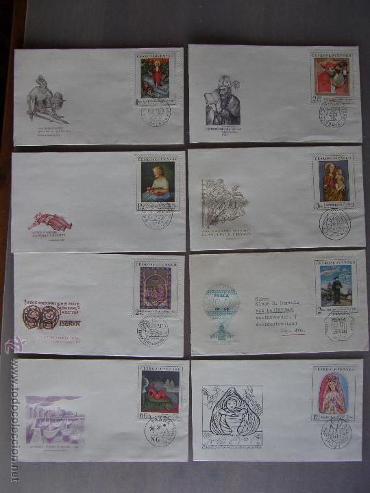 Sellos: Checoslovaquia. Lote de más de 200 sobres primer día, entero postales, tarjetas postales, etc. - Foto 31 - 52953992