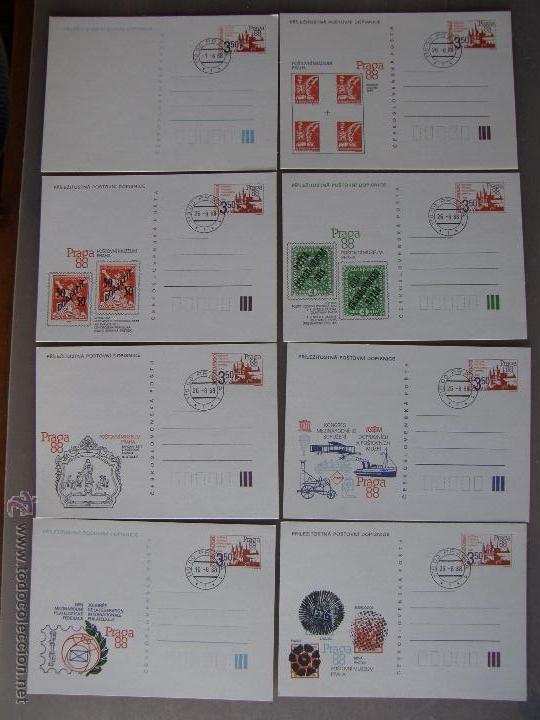 Sellos: Checoslovaquia. Lote de más de 200 sobres primer día, entero postales, tarjetas postales, etc. - Foto 32 - 52953992
