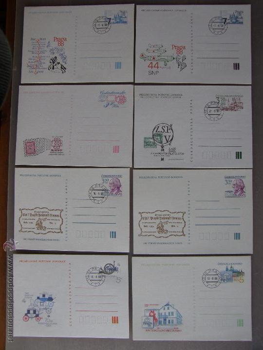Sellos: Checoslovaquia. Lote de más de 200 sobres primer día, entero postales, tarjetas postales, etc. - Foto 33 - 52953992