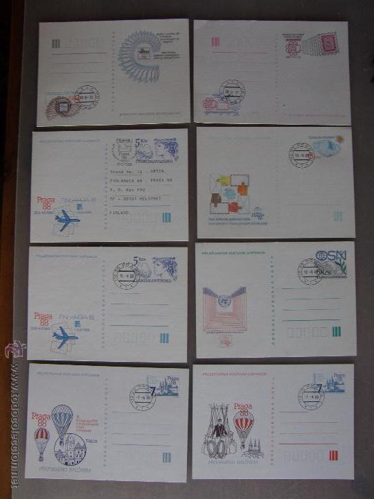 Sellos: Checoslovaquia. Lote de más de 200 sobres primer día, entero postales, tarjetas postales, etc. - Foto 34 - 52953992