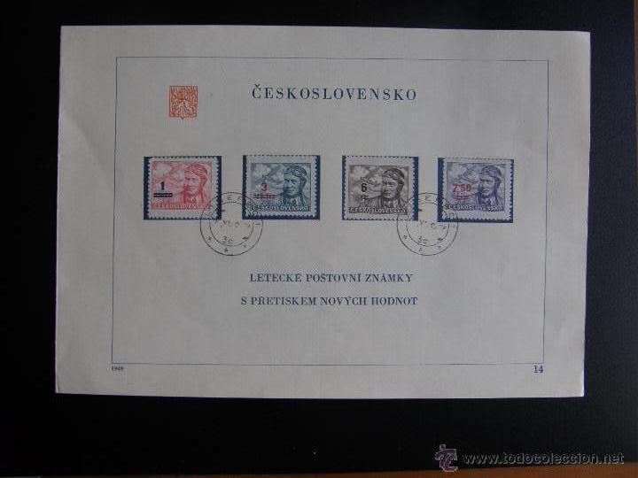 Sellos: Checoslovaquia. Lote de más de 200 sobres primer día, entero postales, tarjetas postales, etc. - Foto 35 - 52953992