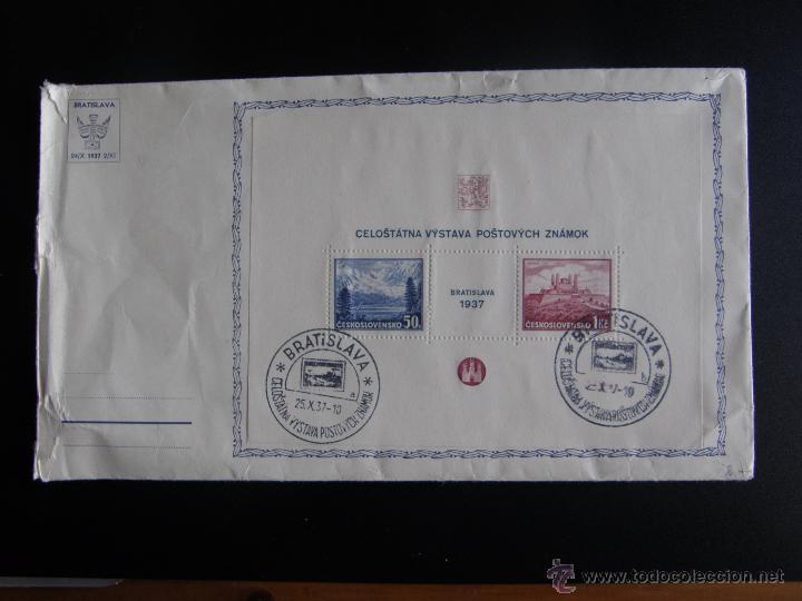 Sellos: Checoslovaquia. Lote de más de 200 sobres primer día, entero postales, tarjetas postales, etc. - Foto 37 - 52953992