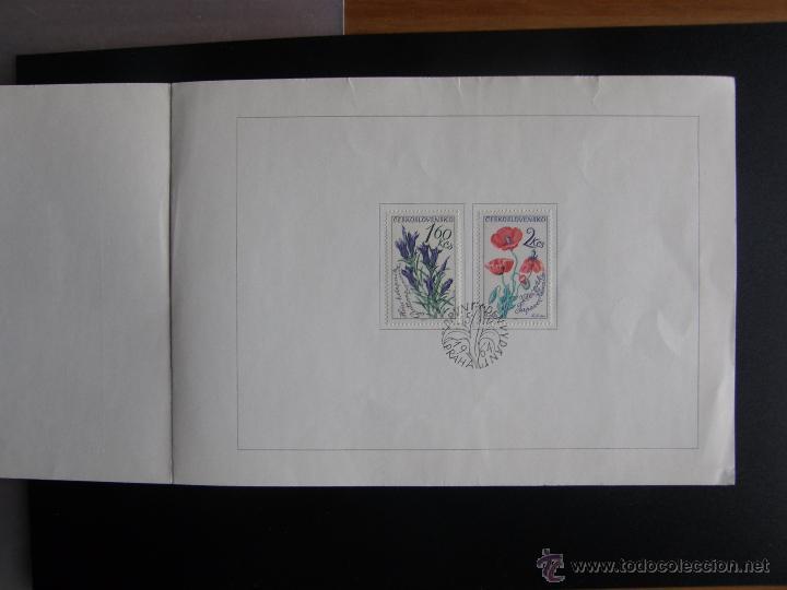 Sellos: Checoslovaquia. Lote de más de 200 sobres primer día, entero postales, tarjetas postales, etc. - Foto 38 - 52953992