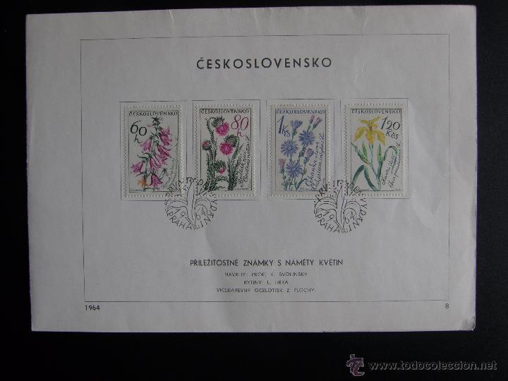 Sellos: Checoslovaquia. Lote de más de 200 sobres primer día, entero postales, tarjetas postales, etc. - Foto 39 - 52953992