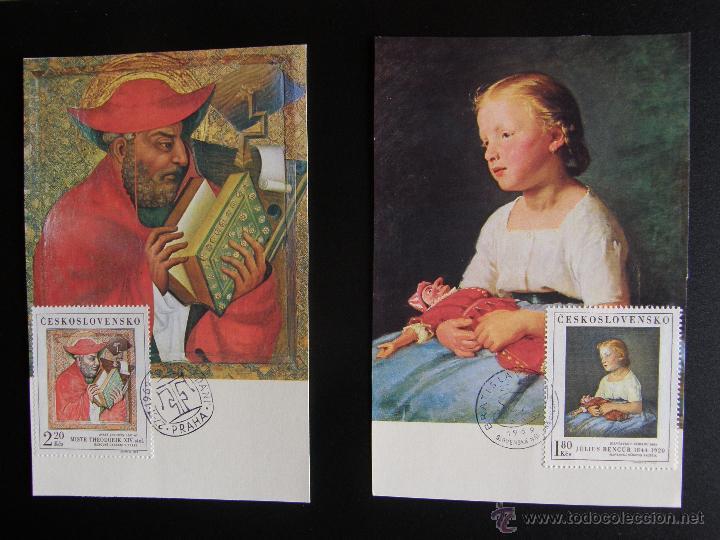 Sellos: Checoslovaquia. Lote de más de 200 sobres primer día, entero postales, tarjetas postales, etc. - Foto 41 - 52953992