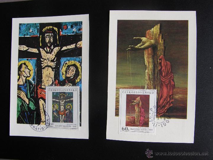 Sellos: Checoslovaquia. Lote de más de 200 sobres primer día, entero postales, tarjetas postales, etc. - Foto 42 - 52953992