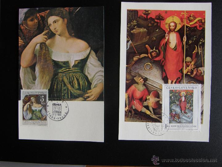 Sellos: Checoslovaquia. Lote de más de 200 sobres primer día, entero postales, tarjetas postales, etc. - Foto 44 - 52953992