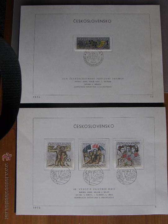 Sellos: Checoslovaquia. Lote de más de 200 sobres primer día, entero postales, tarjetas postales, etc. - Foto 46 - 52953992