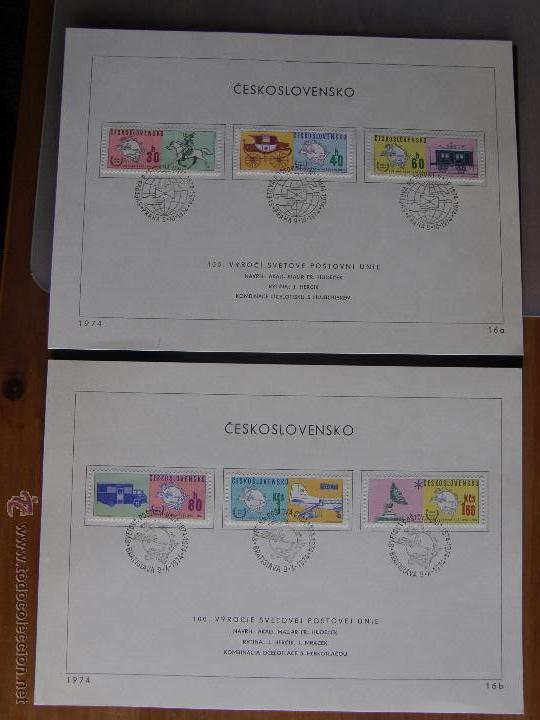 Sellos: Checoslovaquia. Lote de más de 200 sobres primer día, entero postales, tarjetas postales, etc. - Foto 47 - 52953992