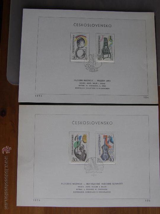 Sellos: Checoslovaquia. Lote de más de 200 sobres primer día, entero postales, tarjetas postales, etc. - Foto 49 - 52953992