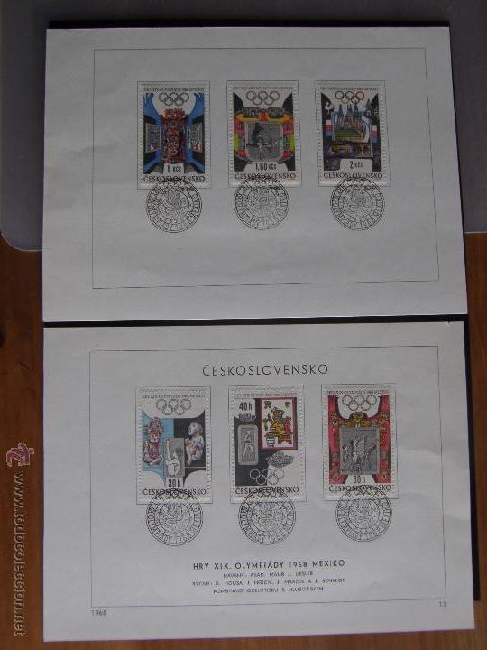 Sellos: Checoslovaquia. Lote de más de 200 sobres primer día, entero postales, tarjetas postales, etc. - Foto 50 - 52953992