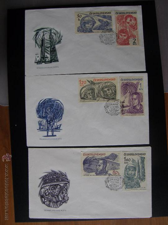 Sellos: Checoslovaquia. Lote de más de 200 sobres primer día, entero postales, tarjetas postales, etc. - Foto 64 - 52953992