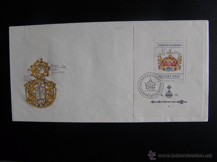 Sellos: Checoslovaquia. Lote de más de 200 sobres primer día, entero postales, tarjetas postales, etc. - Foto 66 - 52953992