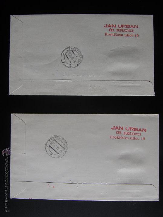 Sellos: Checoslovaquia. Lote de más de 200 sobres primer día, entero postales, tarjetas postales, etc. - Foto 72 - 52953992