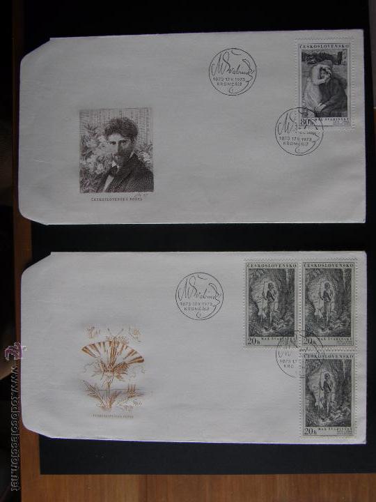 Sellos: Checoslovaquia. Lote de más de 200 sobres primer día, entero postales, tarjetas postales, etc. - Foto 75 - 52953992