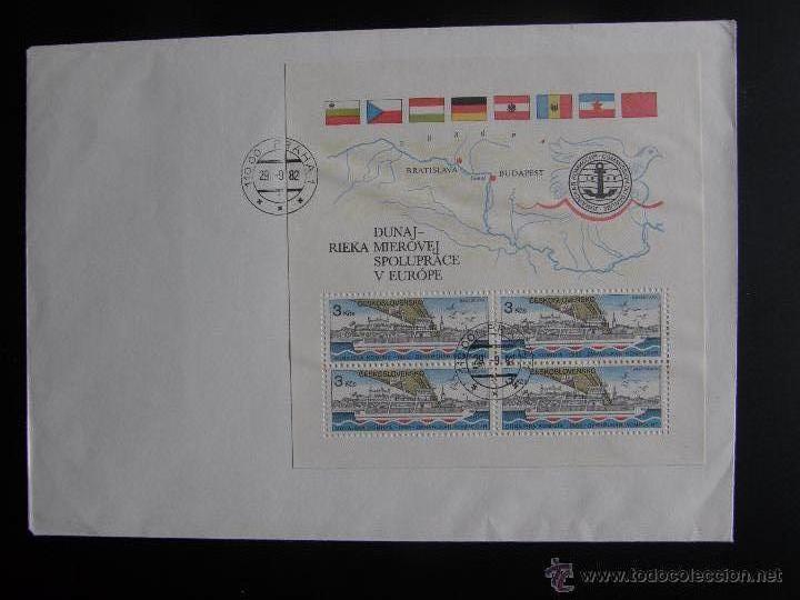 Sellos: Checoslovaquia. Lote de más de 200 sobres primer día, entero postales, tarjetas postales, etc. - Foto 76 - 52953992