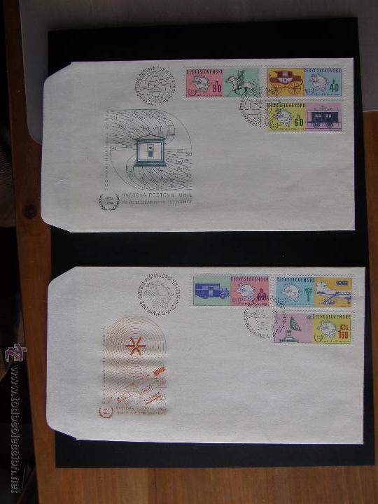 Sellos: Checoslovaquia. Lote de más de 200 sobres primer día, entero postales, tarjetas postales, etc. - Foto 78 - 52953992