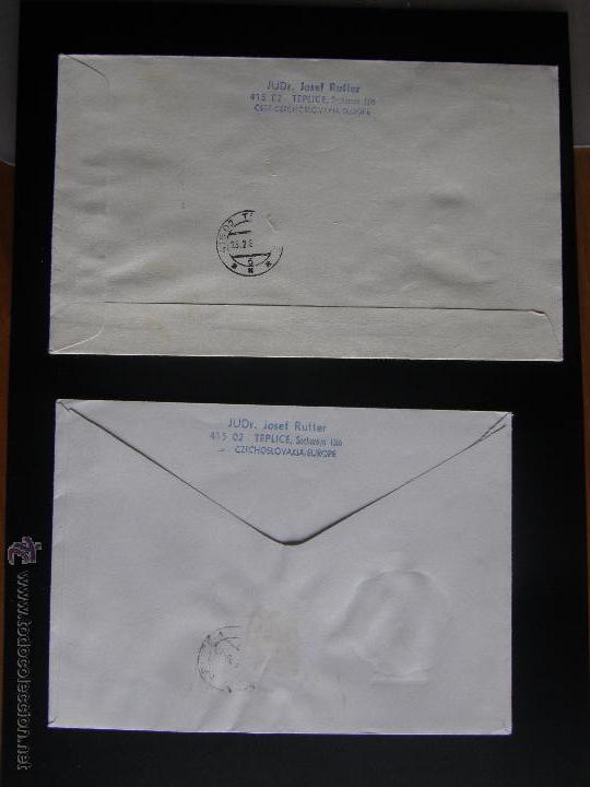 Sellos: Checoslovaquia. Lote de más de 200 sobres primer día, entero postales, tarjetas postales, etc. - Foto 82 - 52953992