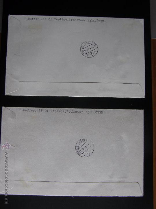 Sellos: Checoslovaquia. Lote de más de 200 sobres primer día, entero postales, tarjetas postales, etc. - Foto 84 - 52953992